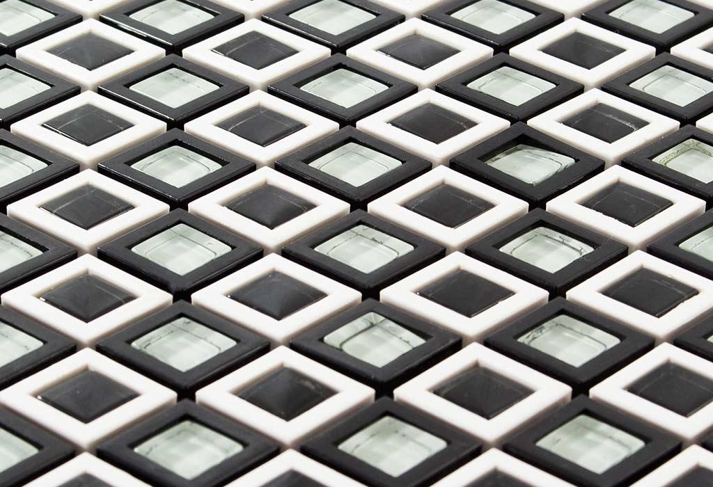 malla-mosaico-negro-textura-bd